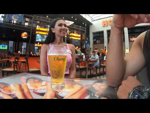 Fine Hooters Girl & Day Time Pattaya stroll Spherical