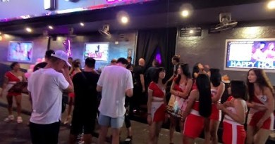 PATTAYA WALKING STREET NIGHT SCENES AUGUST 2019 BARS-GIRLS&ACTION