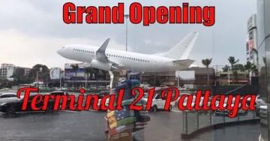 Immense Opening of Terminal 21 Pattaya,Thailand