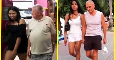 Younger Beauties & Old Farangs – Spherical Pattaya Coastline Road