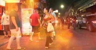 Pattaya walking avenue and nigthlife