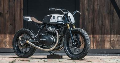 Moose Mission: An Enfield street tracker from Bangkok