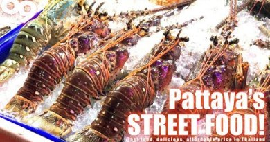 Boulevard meals in Pattaya