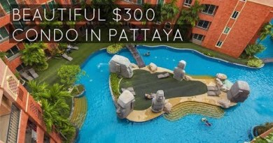 My Low-cost $300 condo in Pattaya Thailand   Seven Seas Residence