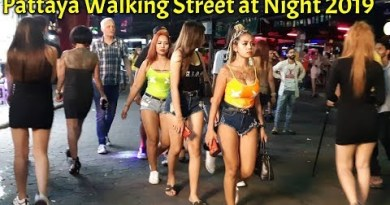 Pattaya Strolling Avenue at Night 2019 || #Pattaya #Bangkok