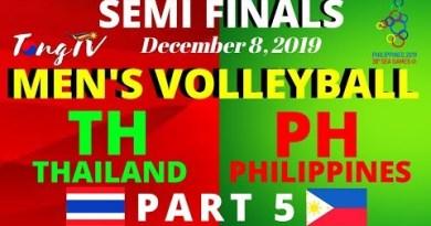 SEA GAMES MEN'S VOLLEYBALL: THAILAND VS PHILIPPINES (PART 5)