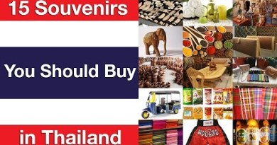 15 Souvenirs You Must composed Make a selection in Thailand