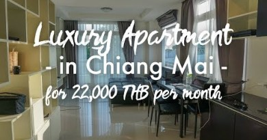 Luxury Rental Tour in Chiang Mai Thailand – Digital Nomad Plot of life