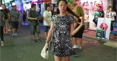 pattaya walking avenue nightlife