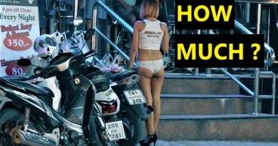 Nightlife in Pattaya. How mighty? (4K)