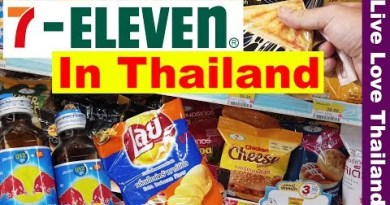 Seven Eleven In Thailand my favorite store – Lets Shop & Exercise 24/7 #livelovethailand