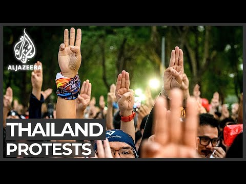 Thailand's protesters flee in opposition to 'dictatorship'