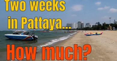 TWO WEEKS IN PATTAYA! HOW MUCH? All it's likely you'll perhaps well perhaps must know