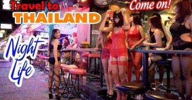 Thiên đường Ăn Chơi tại Pattaya Strolling Avenue Thailand | DU LỊCH THÁI LAN