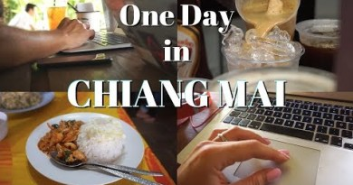 One Day in Chiang Mai | Digital Nomad Standard of living in Thailand