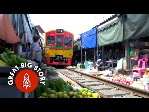 Take a look at up on a Educate Bustle Thru Thailand's Most Dangerous Market
