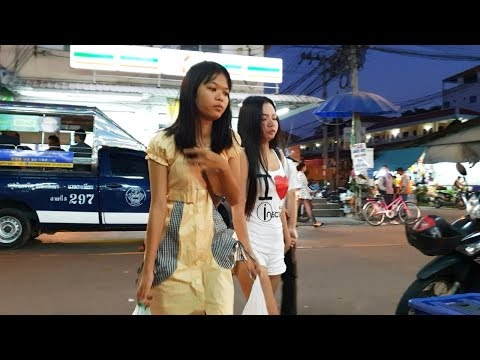 Combine of Crimson Streets – Pattaya Metropolis Thailand – Night time and Night time