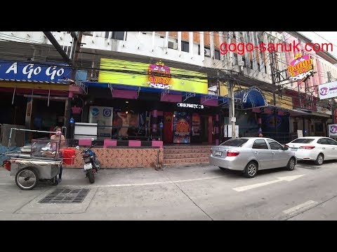 Shoreline avenue Soi13/3, Soi13/4 and 2nd avenue – Pattaya daytime stroll