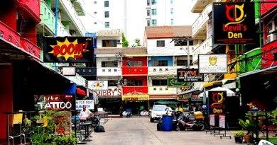 STREETS OF PATTAYA – SOI LK METRO CENTRAL   Pattaya Beach, Thailand