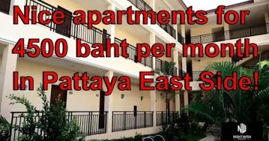 Low-price Condominium East Pattaya for 4500 baht per month that is $146usd