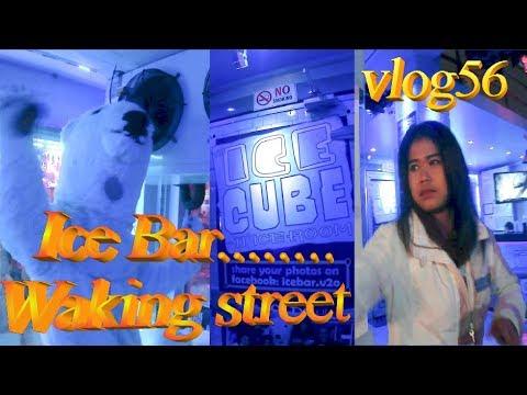Thailand Pattaya strolling facet motorway clips & Ice Bar Ice Age *vlog56*