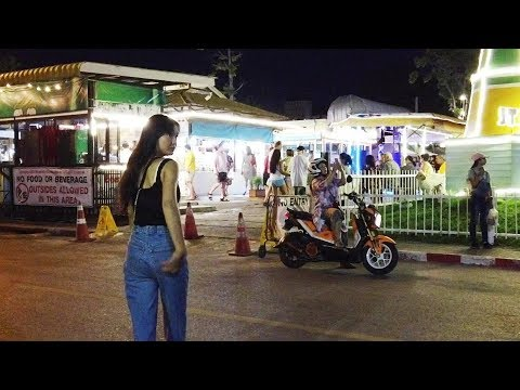 A accepted Evening in Jomtien Seashore, Pattaya
