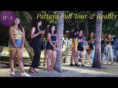 Pattaya City tour – Hotel, Beach, Ladies, Veg Food.