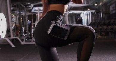 Patchwork Sport Leggings Women Breathable Mesh Sportswear Pockets Gym Fitness Pants Push up Mujer Workout Leggins Exercise Joga