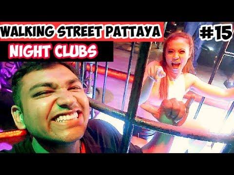 Walking Avenue Pattaya Night Clubs | Pattaya Walking Avenue Nightlife 2019 | Ketan Singh Vlogs #15