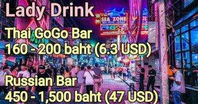GoGo Bars on Pattaya Walking Avenue, Thailand