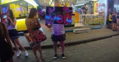 SD Thailand Walking Pattaya Nightlife