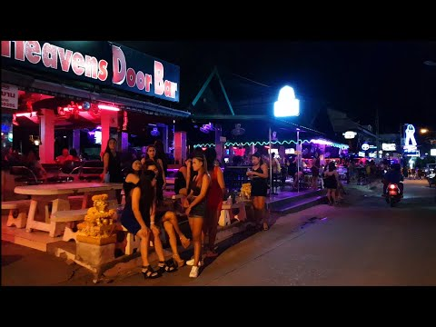 pattaya soi 7 soi 8 thailand evening lifestyles