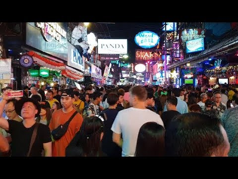 pattaya walking avenue Forty five minutes sooner than unique year 2019
