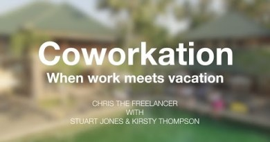 COWORKATION: When Work meets Disappear w/ Stuart & Kirsty