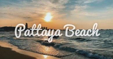 [World Travel Vlog] Pattaya Seaside Bangkok   Pattaya Seaside Strolling Avenue   Easiest Seaside in Thailand