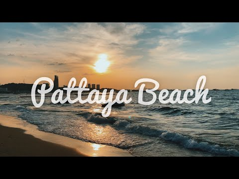 [World Travel Vlog] Pattaya Seaside Bangkok | Pattaya Seaside Strolling Avenue | Easiest Seaside in Thailand