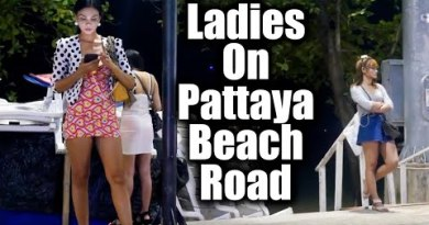 Females On Pattaya Seaside Facet road / Pattaya / Tailand / 2019 #19