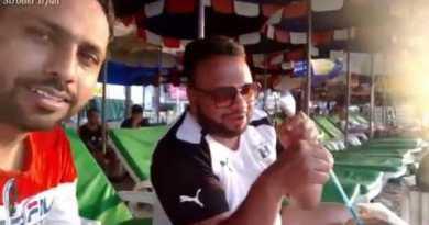 ingesting coconut water on pattaya shoreline (vlog-3)