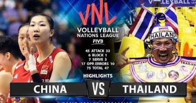 China v Thailand  | Highlights | Ladies's VNL 2019
