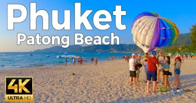 Phuket, Thailand Strolling Tour – Patong Sea dawdle (4K Extremely HD 60fps)