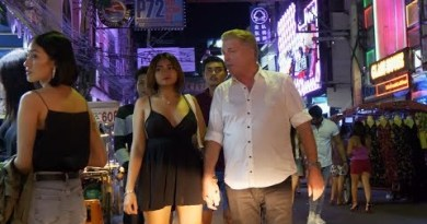 (4K) Pretty Night with Elated Of us in Walking Avenue, Pattaya