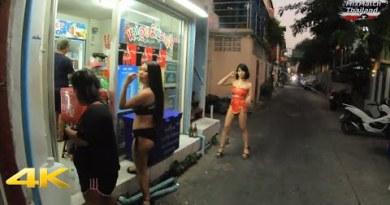 Soi 6/1 The Ladyboy boulevard in Pattaya: The Costume [4K]