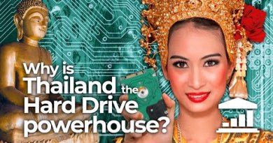 Why is THAILAND the WORLD LEADER in HDD manufacturing? – VisualPolitik EN