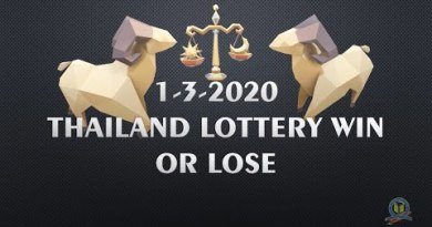 1-3-2020  THAILAND LOTTERY WIN OR LOSE TIP BY INFORMATIONBOXTICKET CHANNEL