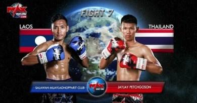 Salawan Muaylaonopparit Membership (Laos) vs Jayjay Petchgoson (Thailand)