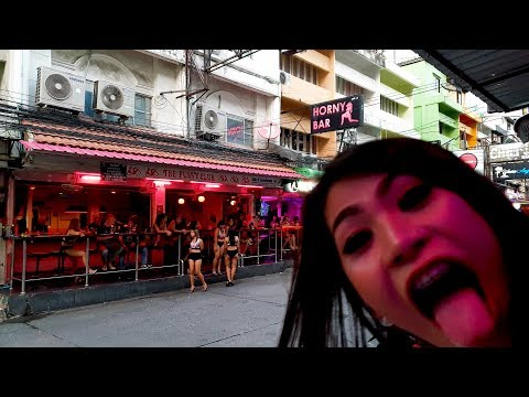 [4K] [Jan 2020] Soi 6 daylight hours, Pattaya: Walking past all bars: ample facet + left facet, Thailand