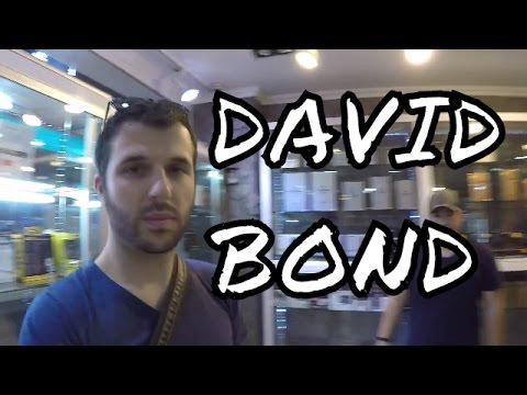 Who's David Bond? Bangkok Thailand