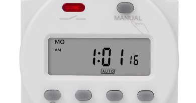 CN101A Digital Microcomputer 7Days Weekly Programmer Electronic Timer Switch 220V Time Relay with Countdown 12V DC for Light Fan