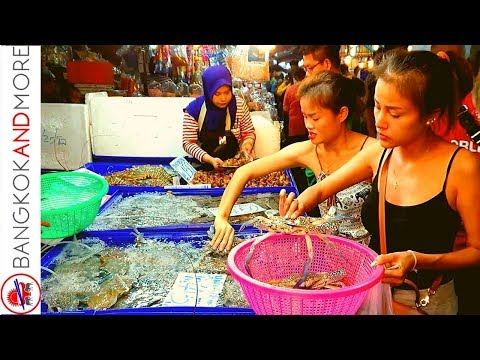 Easiest Seafood Market In Thailand
