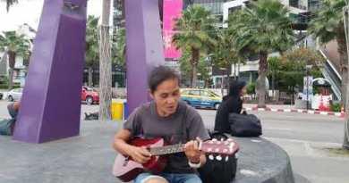 Cronicas de Pattaya en Espanol, Caminando Seaside Facet road al Amanecer